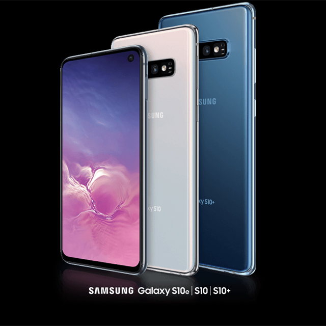 Get up to $300 off any Samsung Galaxy S10.