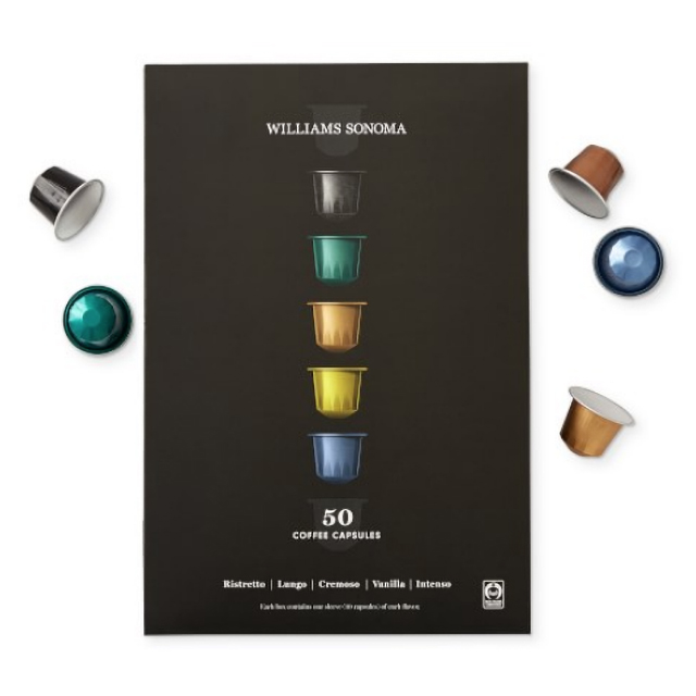 20% off Williams Sonoma Coffee Capsules