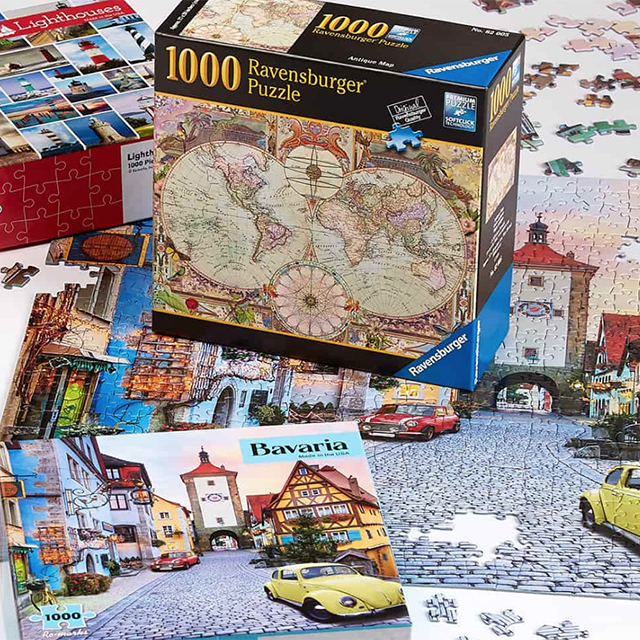 Jigsaw Puzzles: Buy 1, Get 1 50% Off