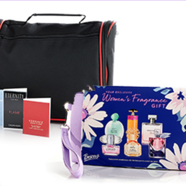 Free Gift with any $50 or more Cosmetic or Fragrance purchase