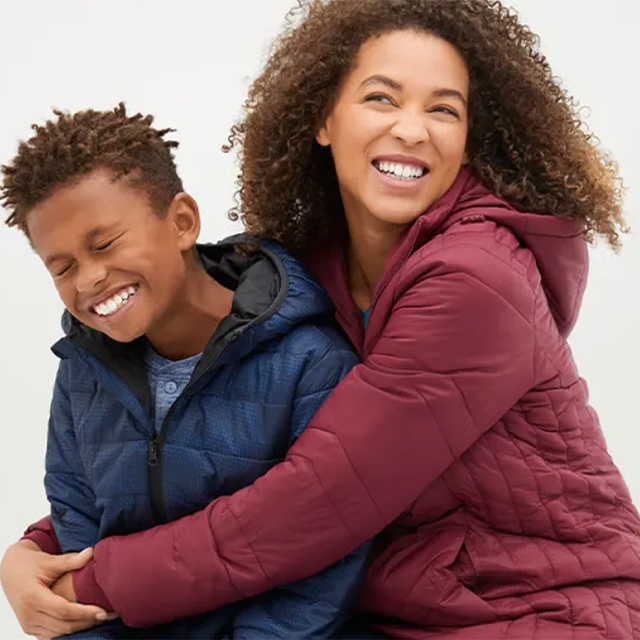 Up to 65% off all Coats & Jackets for the Family