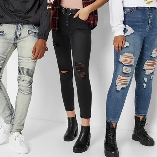 Jeans BOGO 50% off
