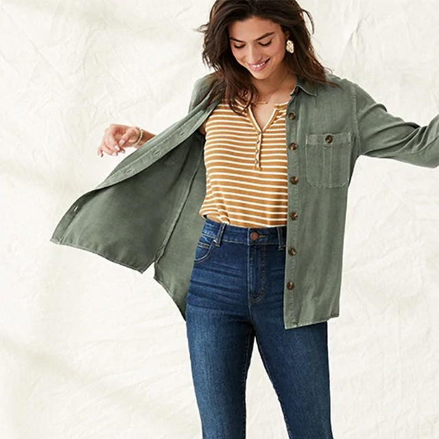 Buy One, Get One 50% off select tops, jeggings & more