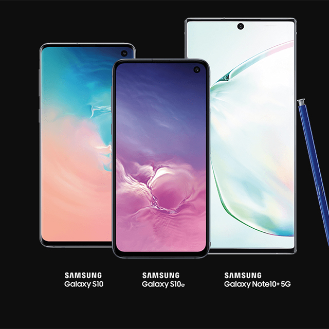Buy a Samsung Galaxy S10 or Note10, get one free.