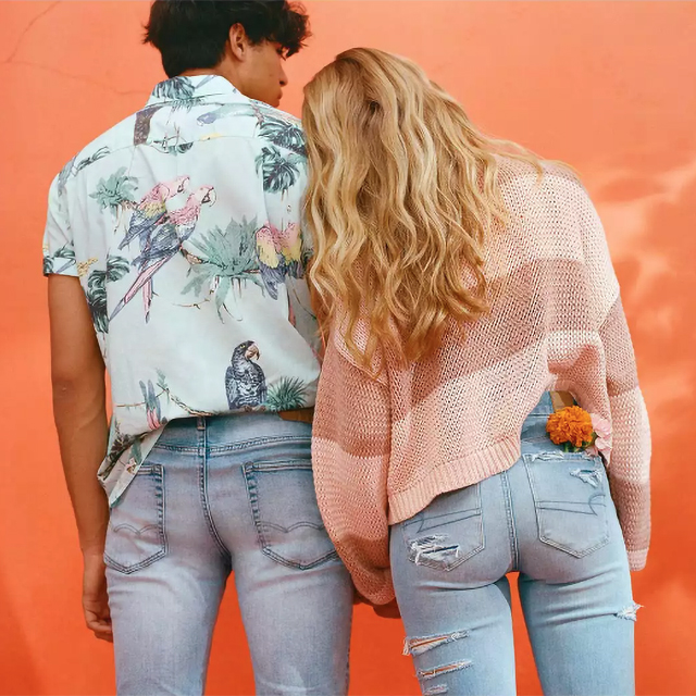 Buy One Get One 50% off All AE Jeans & Joggers