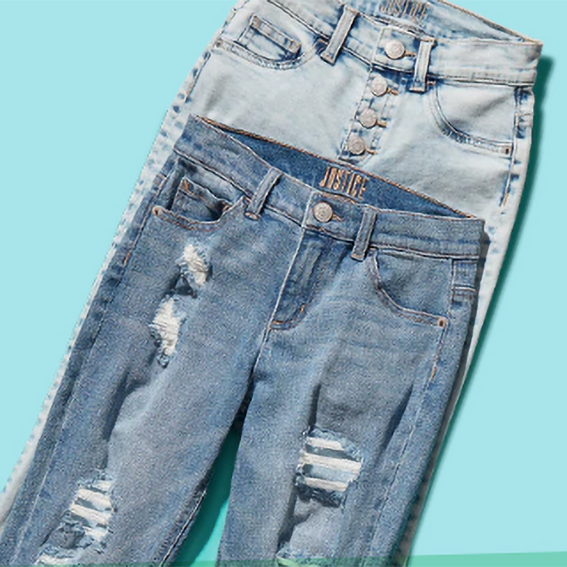 Denim $12 with a purchase