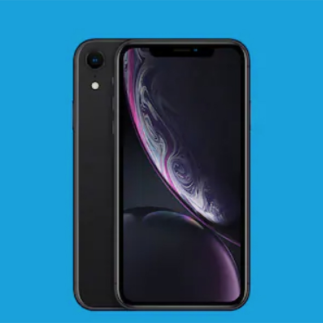Get the amazing iPhone XR 64GB for $1/mo.