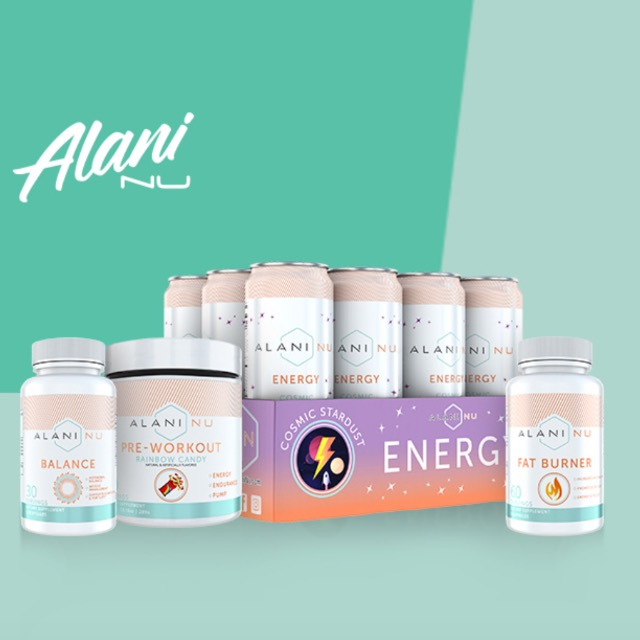 Alani Nu is BOGO 50% off