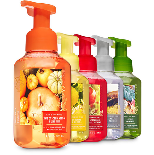 Hand Soaps 6/$26 or 4/$20